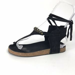 Free People Collins Footbed Gladiator Sandals